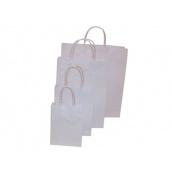 Twisted Papieren draagtas wit
