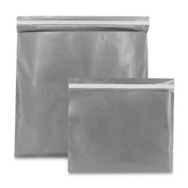 Plastic Verzendzak zilver