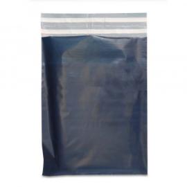 donker blauw plastic verzendzak