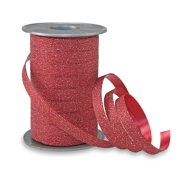 Poly Glitter rood