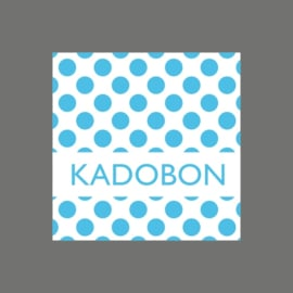 Kadobon stip blauw