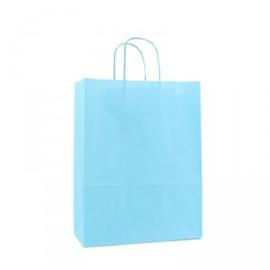 Budget Papieren draagtas aqua