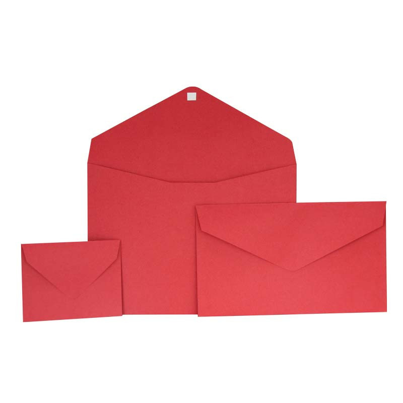 Geschenkenvelop rood