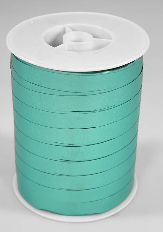 Mat Gemetalliseerd Krullint turquoise