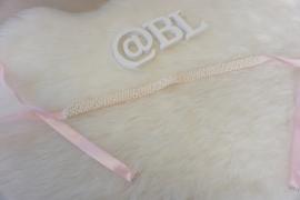 Pink pearl belt