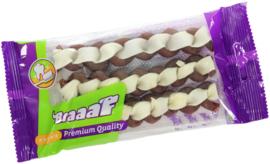 Braaaf Twister Dubbel 13 cm 3 stuks