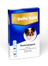 Bolfo Gold Honden 2 Pipetten