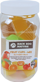 Back Zoo Nature Fruit cups mixpot