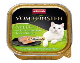 Feinsten Cat Gourmet Kalk Kippenborst