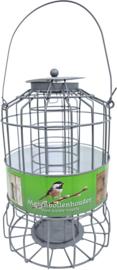 Mezenbolhouder metaal grijs voor kleine vogels