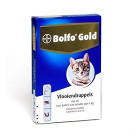 Bolfo Gold Kat minder dan 4kg