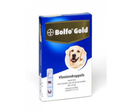 Bolfo Gold Honden 4 Pipetten
