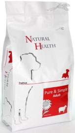 Natural Health Lam en Rijst 2kg-12.5kg
