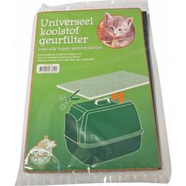 Universeel kattenbakfilter