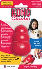 Kong Classic rubber rood
