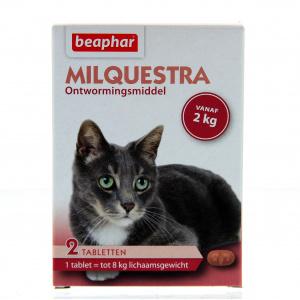 Milquestra Ontworming Kat