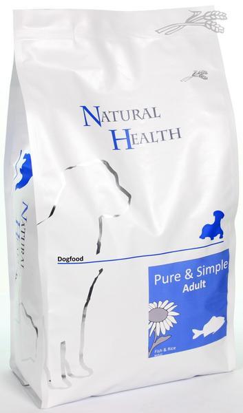 Natural Health Fish & Rice 2.5kg-12.5kg