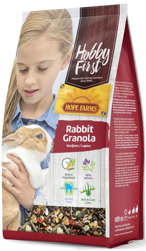 Hope Farms Rabbit Granola
