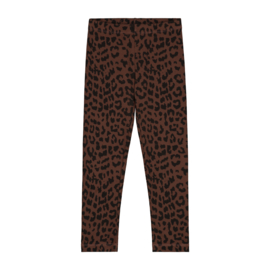 Daily Brat Leopard Pants Hickory Brown