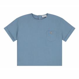 Daily Brat Hudson t-shirt Ocean Blue