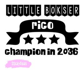 T shirt Little bokser