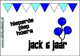 Bellenblaas: Jack is jarig