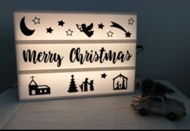 Lightbox setje - Kerst