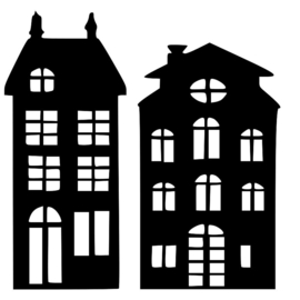 Basisset huisjes