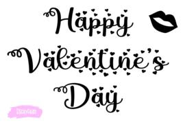 Lightbox decoratie - Happy Valentines Day
