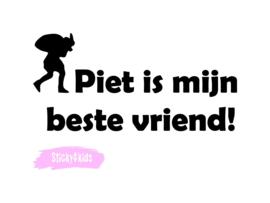 T-shirt Piet is mijn beste vriend!