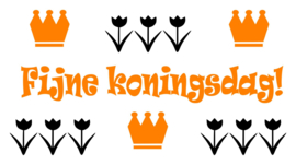 Lightbox setje - Fijne koningsdag