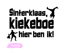 T-shirt Kiekeboe hier ben ik!