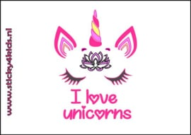 Bellenblaas: I love unicorns