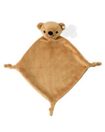 Knuffeldoekje beer (met naam)