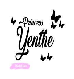 Strijkapplicatie Princess