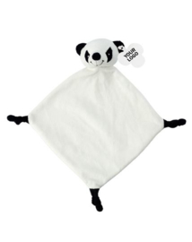 Knuffeldoekje panda (met naam)