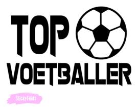 T-shirt Top voetballer