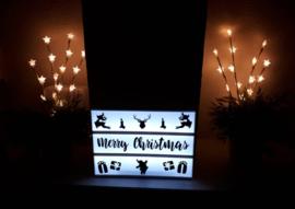Lightbox setje - Kerstman