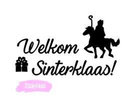 T-shirt Welkom Sinterklaas!