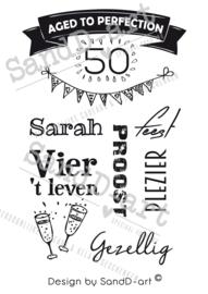 Cadeau voor een 50 jarige - SARAH