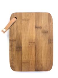 Hapjesplank, bamboo hout, 14x22cm.  (prijs excl. gravure)