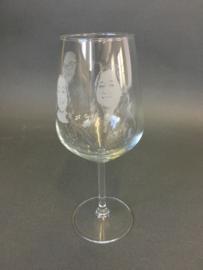 Wijnglazen set van twee