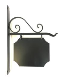 Naambord smeedijzer uithangbord 49x36 cm