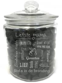 Tekst voor een cadeau LIEFSTE MAMA (excl. product)