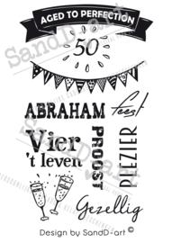Cadeau voor een 50 jarige - ABRAHAM