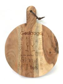 Tekst voor en cadeau GESLAAGD (excl. product)