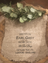Shabbydoek Earl grey