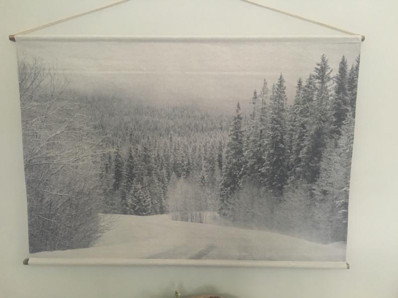 Wanddoek Winter wonderland