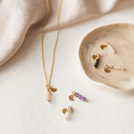 Gemstone power ketting