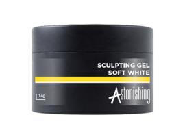 Astonishing Nails LED UV Sculpting Gel Soft White 14 gr